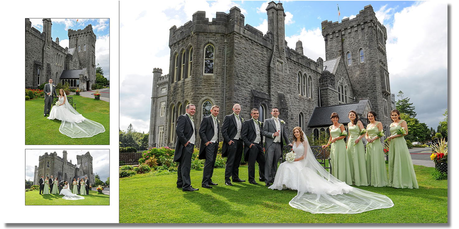 David Knight Is Kilronan Castle S Recommended Wedding Photographer And He Has Been Working With The Hotel Team Since Opened