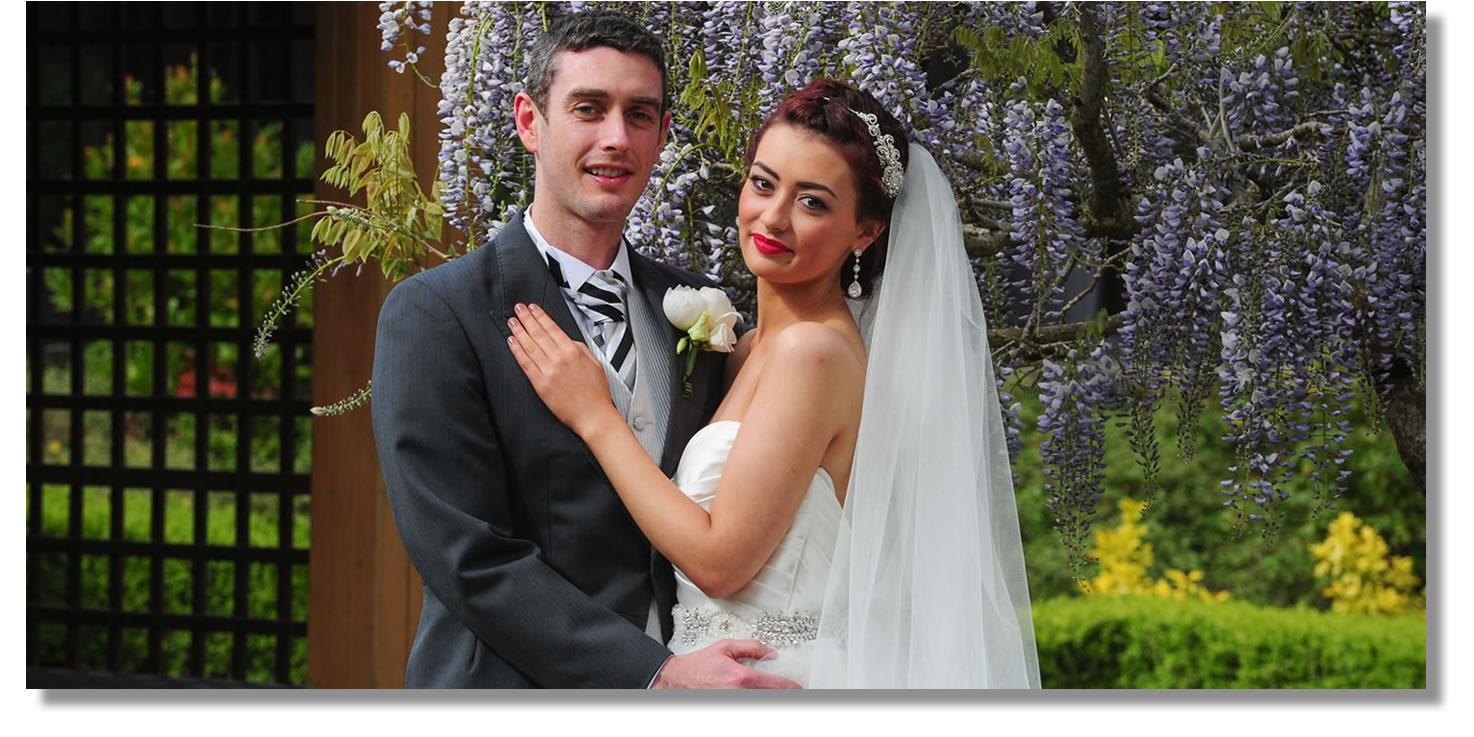 wedding photography at Lough Rynn